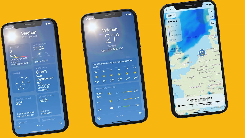 Weather Utility iOS 15 makes Funradar and Funarlar redundant