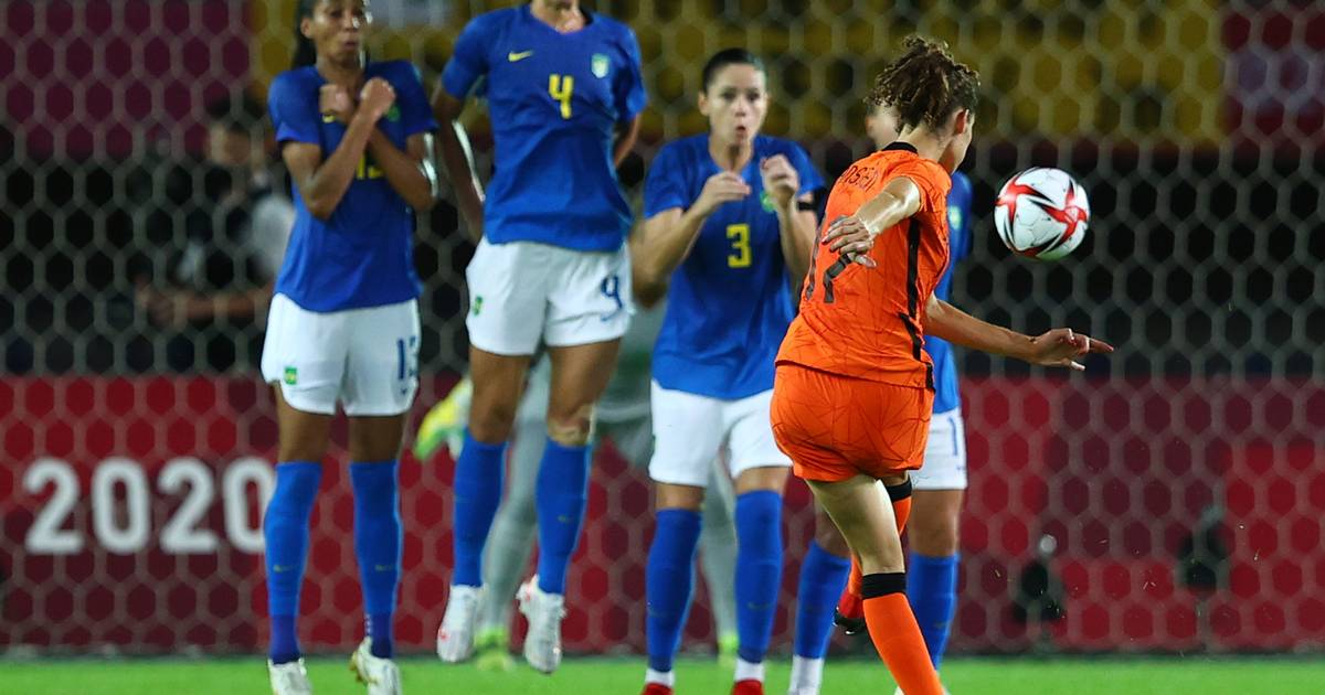 The goal scene between the lionesses and Brazil does not result in a winner |  the Olympics