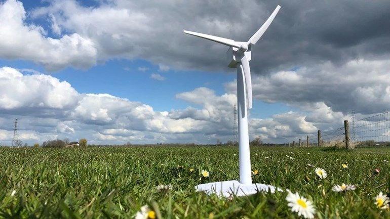 Arnhem Nijmegen region has a small area for wind turbines