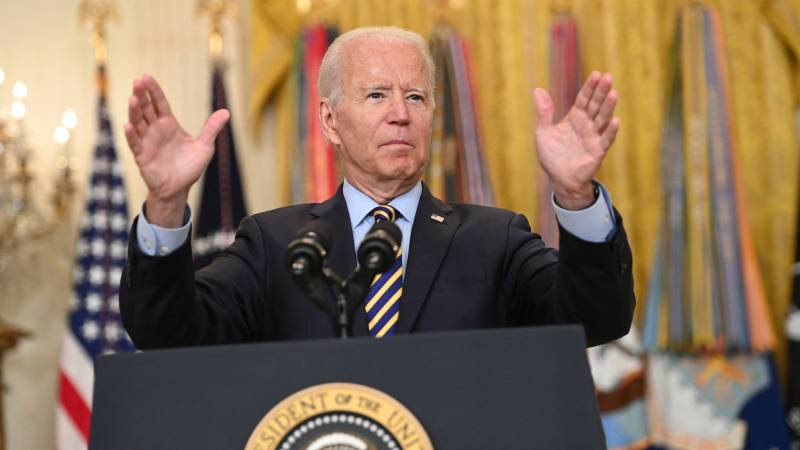 Biden defends quick withdrawal: 'Afghans must now do it themselves'