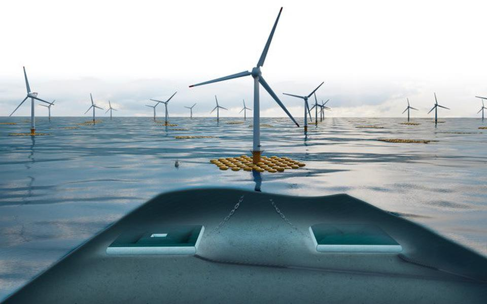Clean, inexhaustible and always available energy: the UG Ocean Grazer project was nominated for the Huibregtsen Award