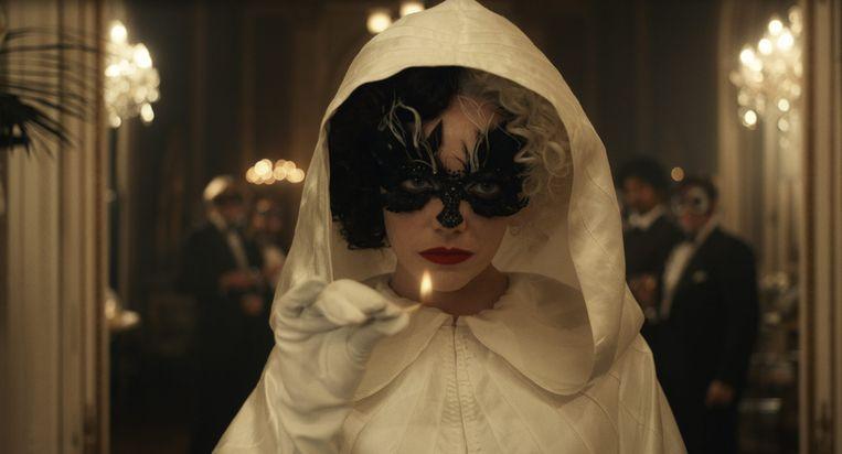 Emma Stone gives Cruella de Vil's sinister traits something irresistibly playful