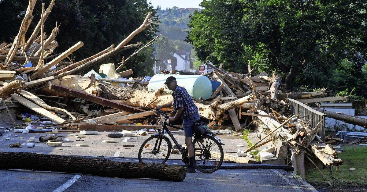 Floods after heavy rain in East Germany and Bavaria |  abroad