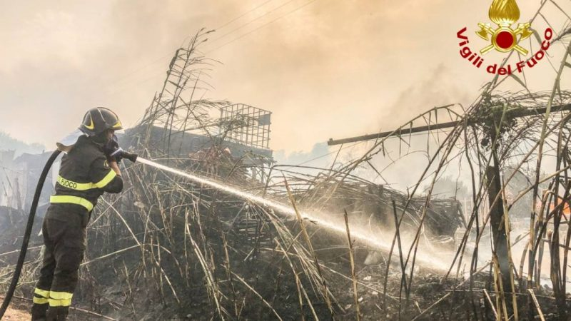 Forest fires in Sardinia and southern France, Italy asks countries for help |  abroad