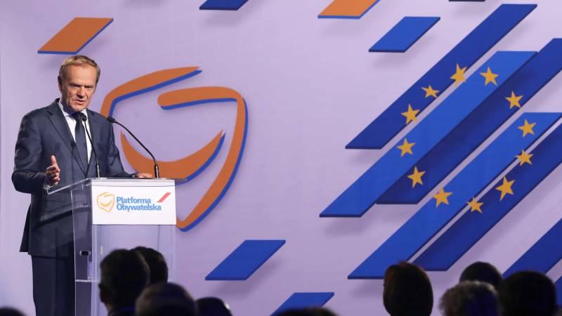 Former EU President Tusk returns to Polish politics and attacks the government