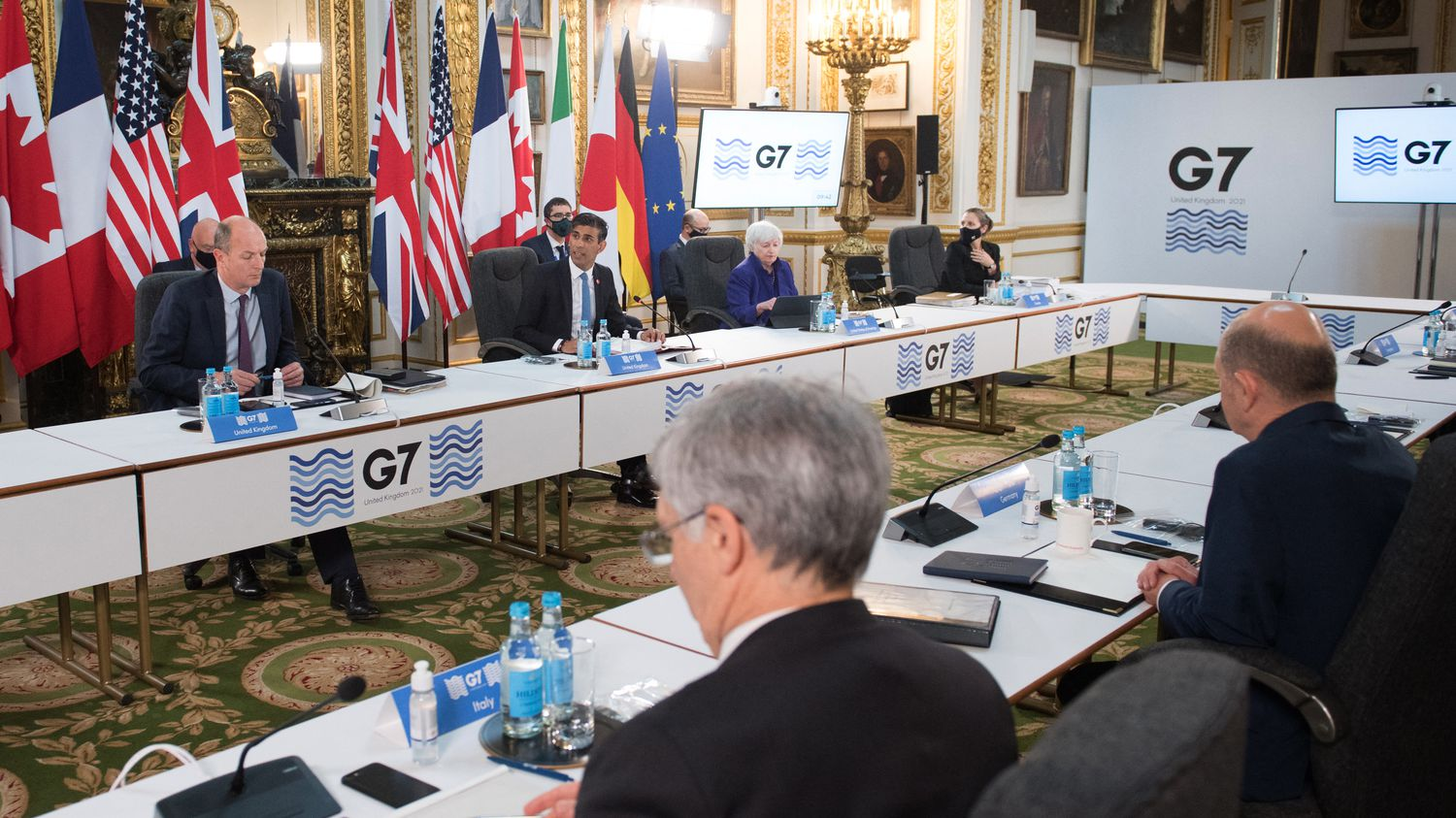 G7 promises a historic deal at the minimum corporate tax rate