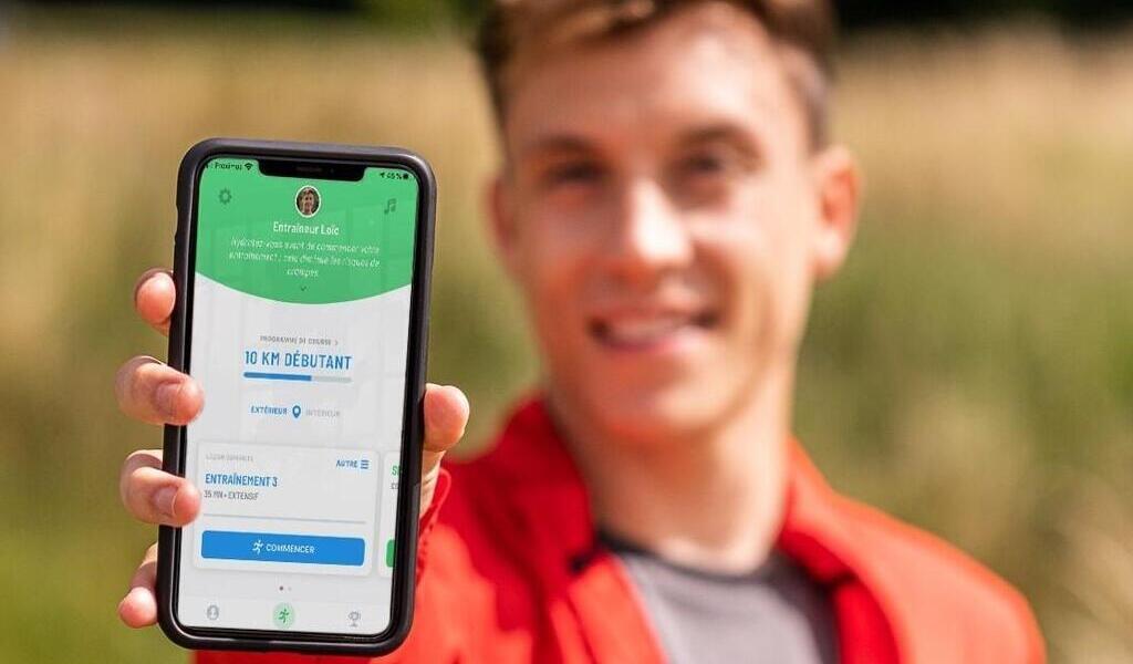 Hij rende.  Ga vooruit met de Start 2 Run-app.  sport