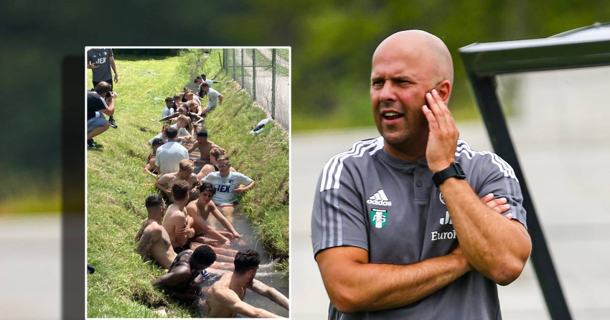 Ice bath as a symbol of a new perspective: Feyenoord wants to collaborate with the Brazilian Academy |  Dutch football