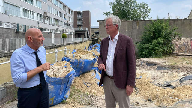 More space: 'Governments must work together'    1 Limburg