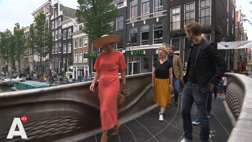 """""""Queen Maxima regularly displays the red light district for foreign guests"""""""