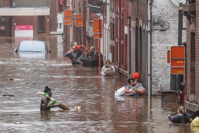 Study: Severe rainstorms up to 14 times more frequent in Europe