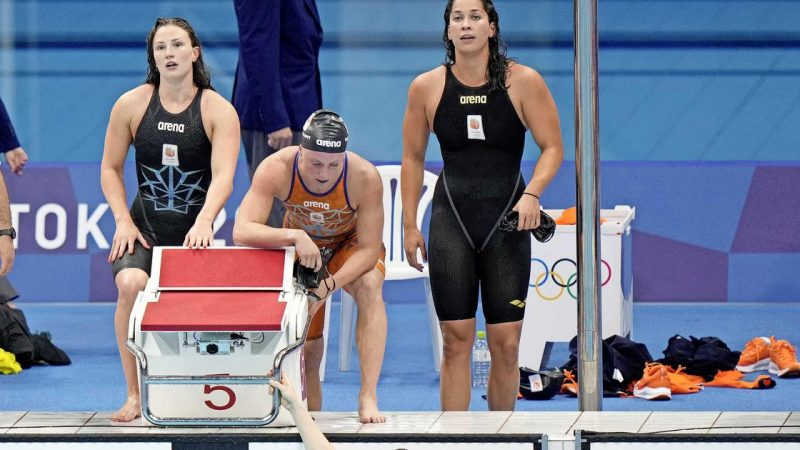 Swimmers miss medals 4 x 100m |  sports