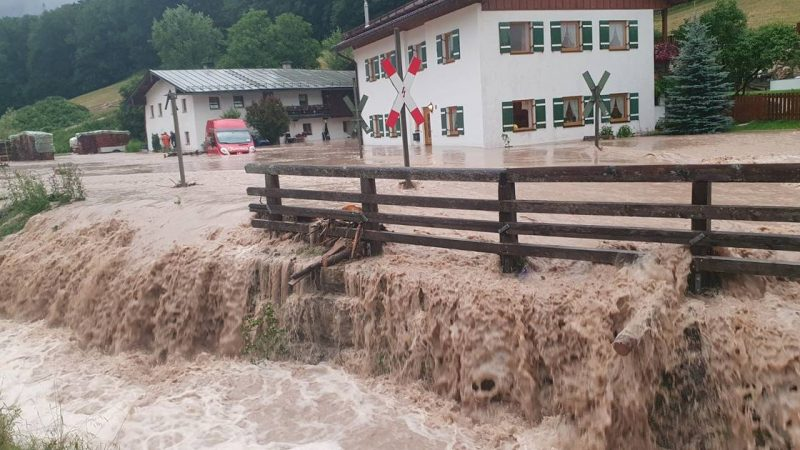 The situation in German Bavaria is 'tragic' due to heavy rains    abroad