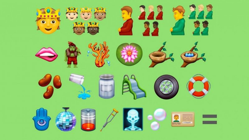 This new emoji is coming: from a pregnant man to an empty battery