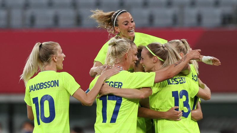 Tokyo 2020 |  A big surprise in women's football: America makes it difficult for the big favorites against Sweden