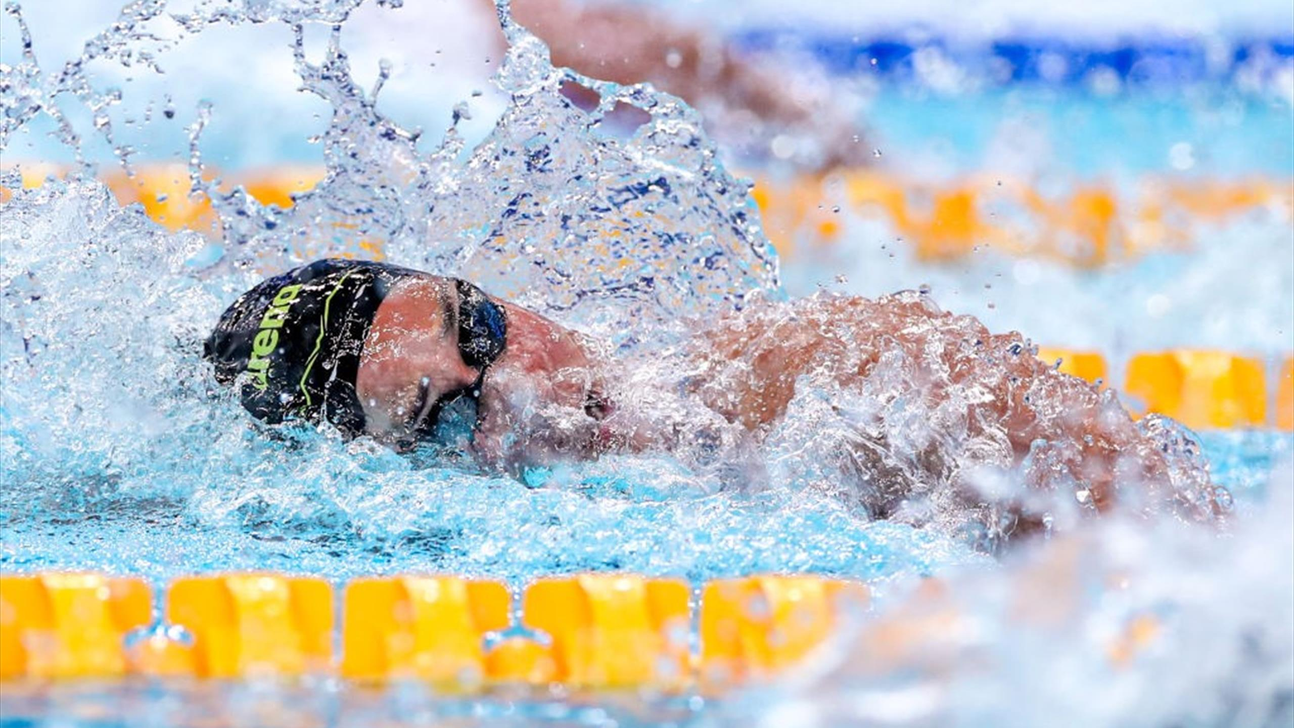 Tokyo 2020    The 4 x 100m freestyle relay team easily into the final