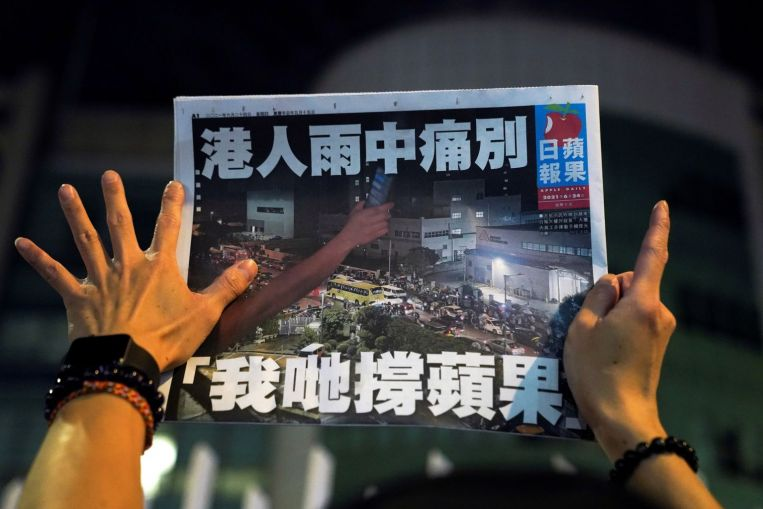 """US and its allies condemn repression of """"Apple Daily"""" and """"US News & Top Stories"""" in Hong Kong"""
