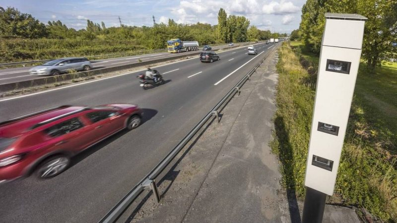 'Ultra-fast camera' is now also used in Belgium to fight traffic violators |  the cars