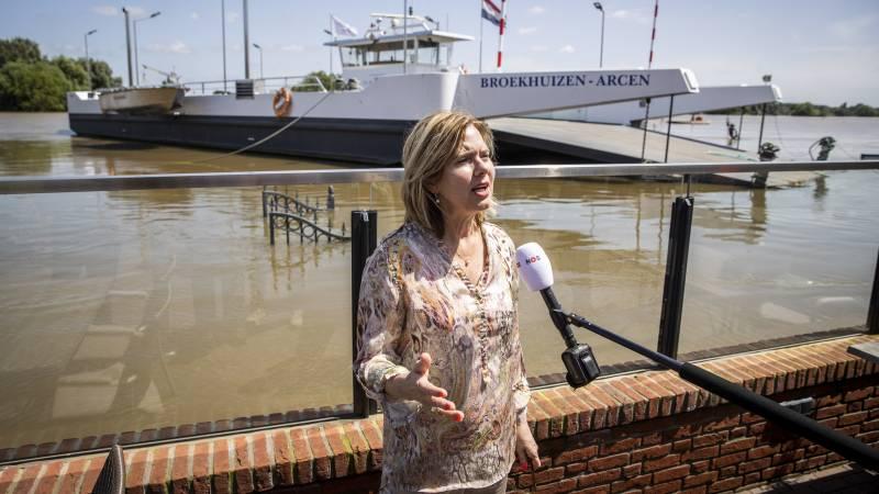 Van Nieuwenhuizen: This can happen anywhere, more water space is needed