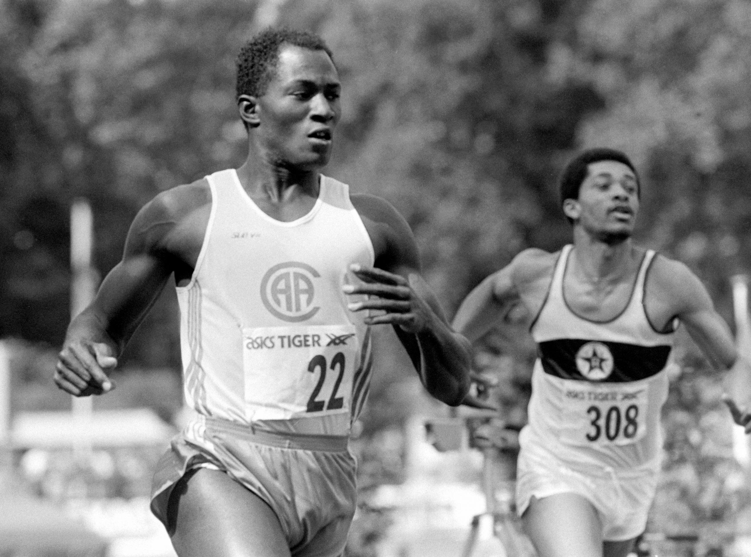 Vandaag in 1986 is Achmed de Kom voor het eerst de snelste o…