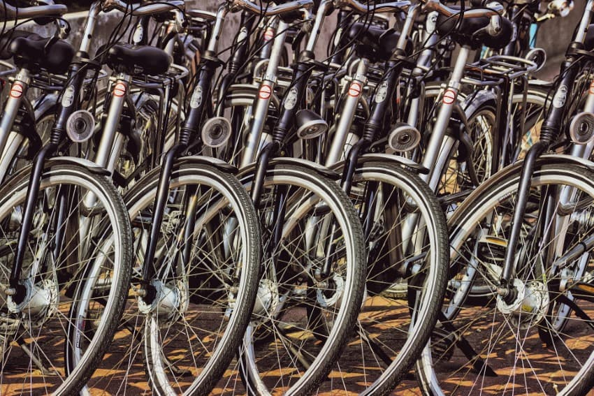 Weesp provides more parking space for bicycles