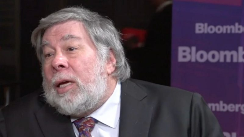 """Wozniak: """"Why aren't people allowed to repair Apple devices?"""""""