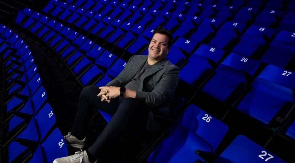 Why is he the biggest sports marketer in the Netherlands…