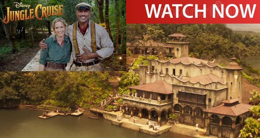 """flow!  Watch """"Jungle Cruise"""" movie online from Disney Plus from anywhere"""