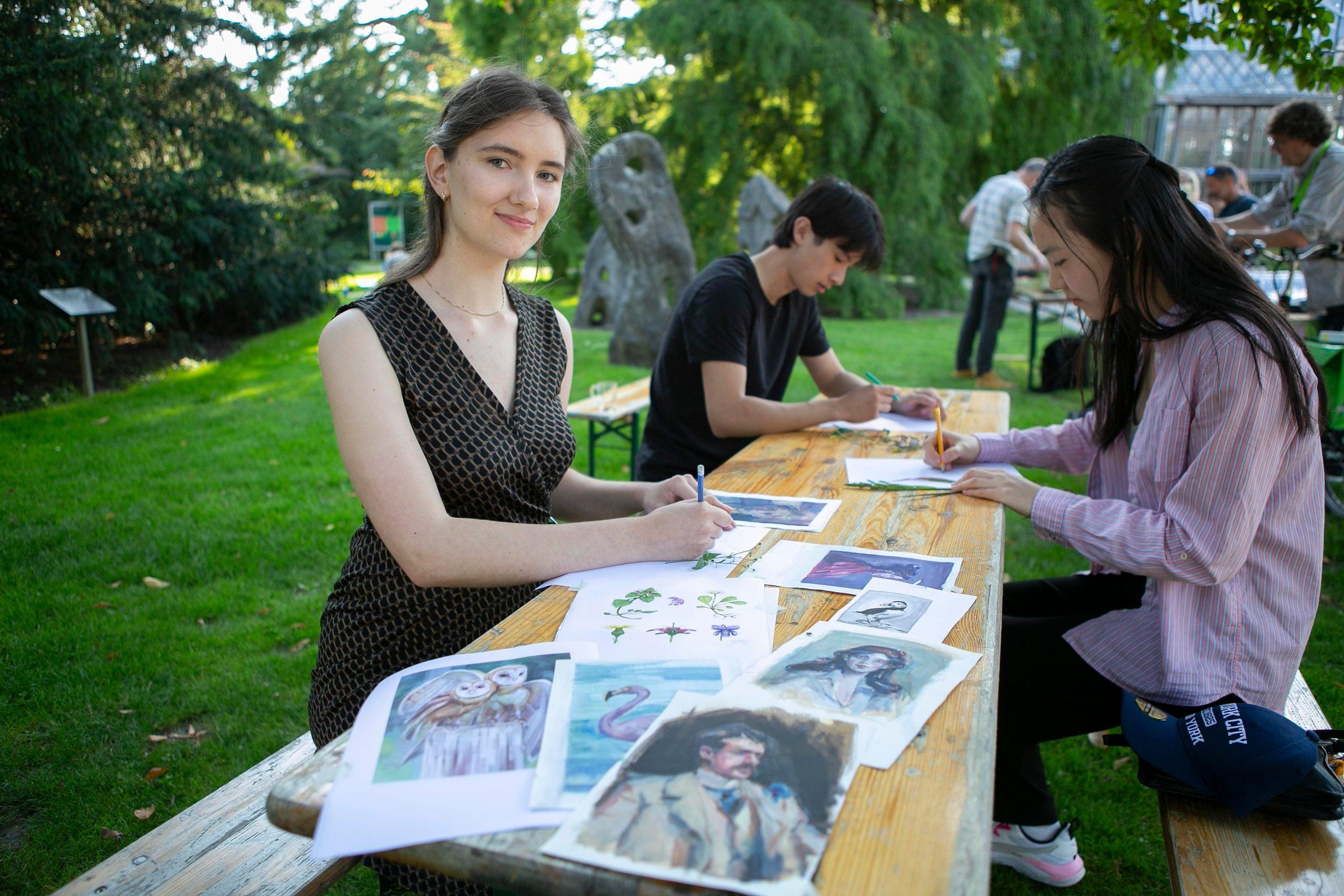 Livia Pietro has a creative and educational summer job at…