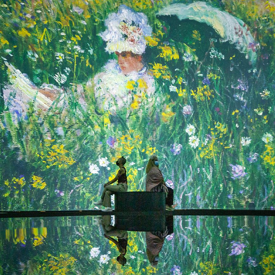 """Beyond Monet"" Inside Toronto.  Photo courtesy of Paquin Entertainment Group."