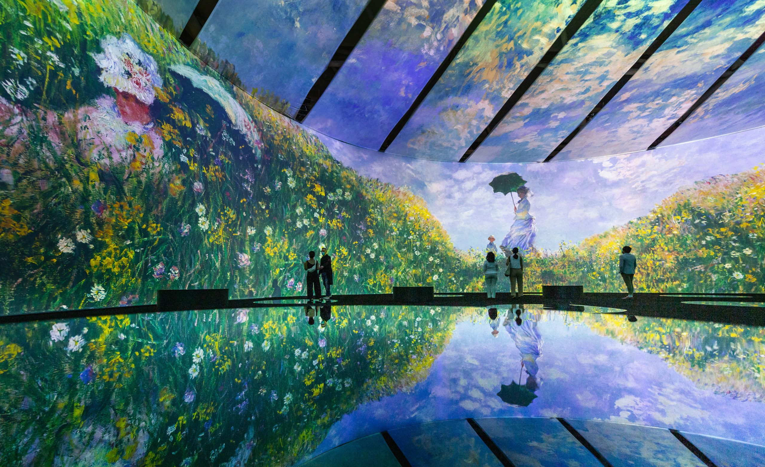 Tired of the already immersive Van Gogh experience?  Three separate companies launch immersive competitive experiences at Monet