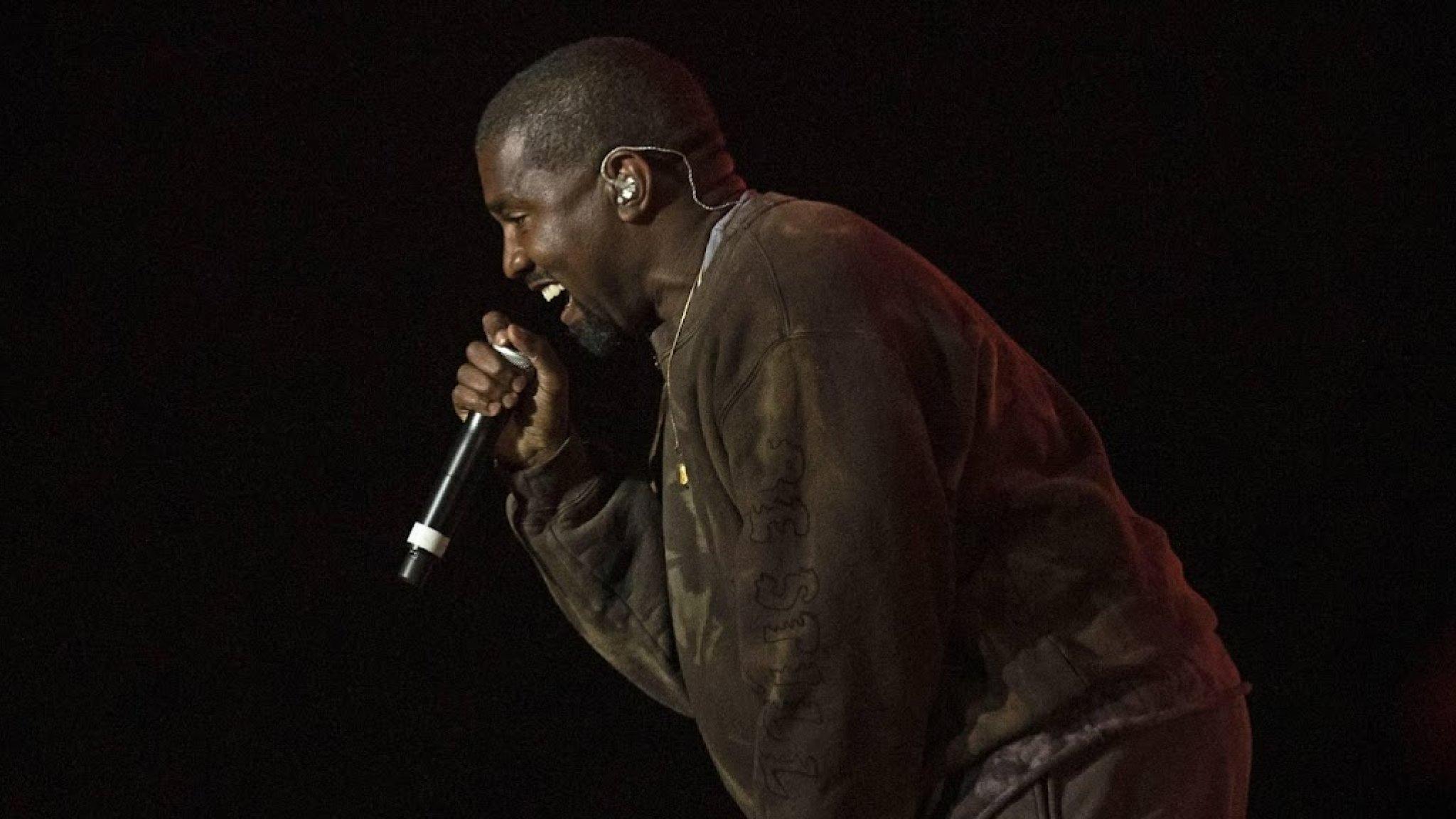 Kanye West's new album hits #1 on Apple Music