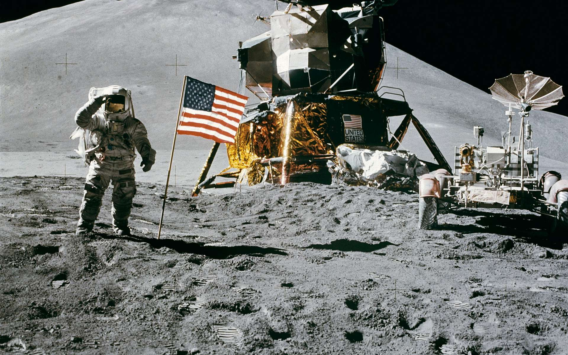 50 years ago, NASA landed a craft on the moon