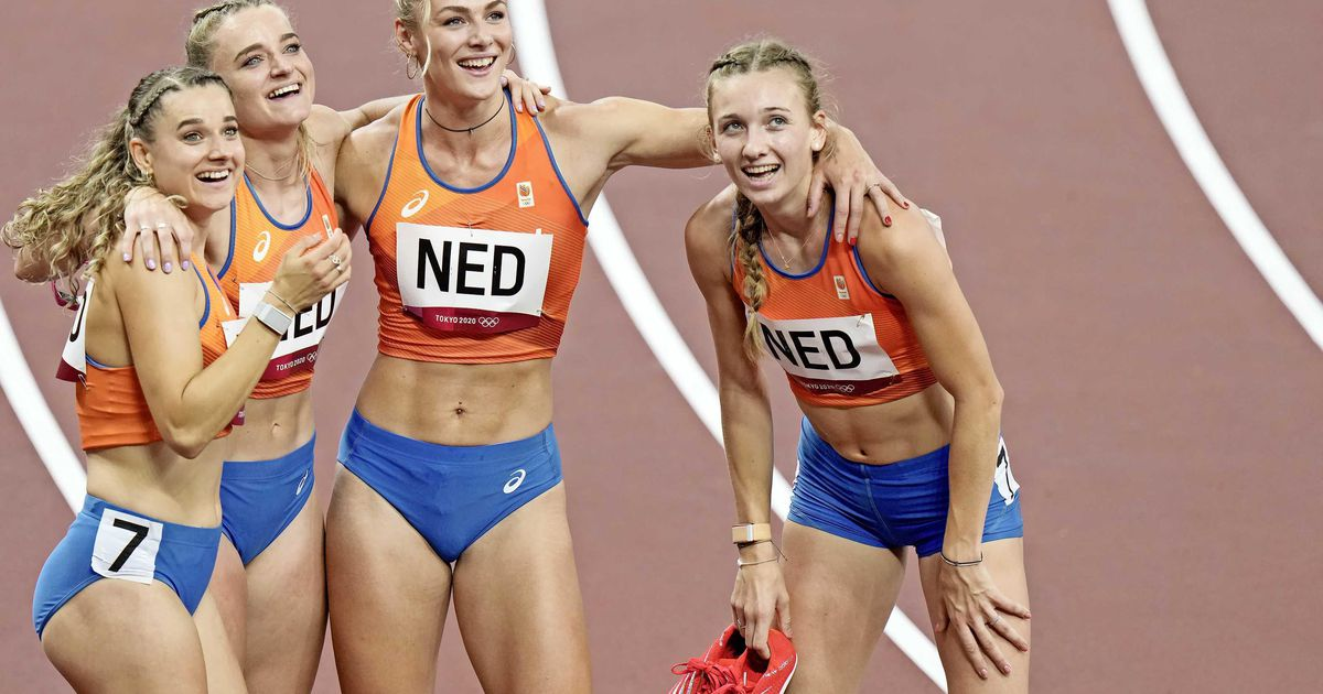 6th Dutch relay in 4x400m |  sports