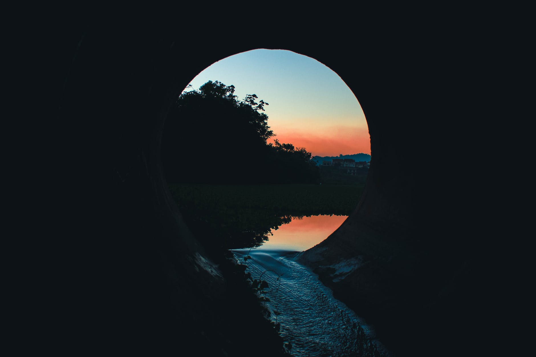 A tunnel from the edge to the other side of the world?  Here you go!