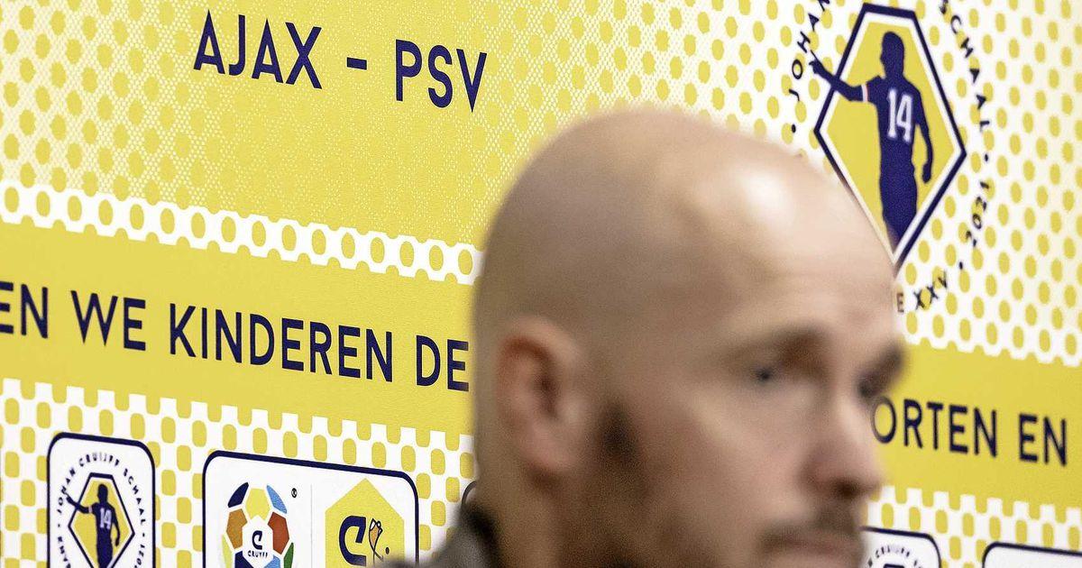 Ajax with Pacefer, Bergwiz and maybe also Alvarez vs PSV |  football