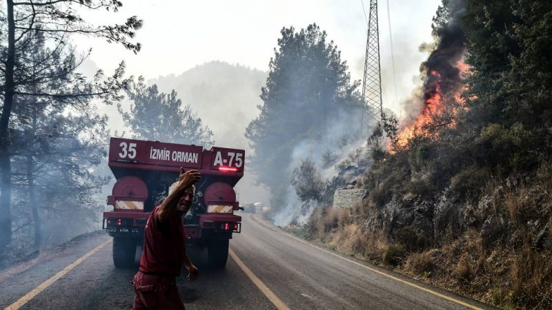 Almost all fires under control in Turkey, fires also haunt Greece and Italy |  abroad
