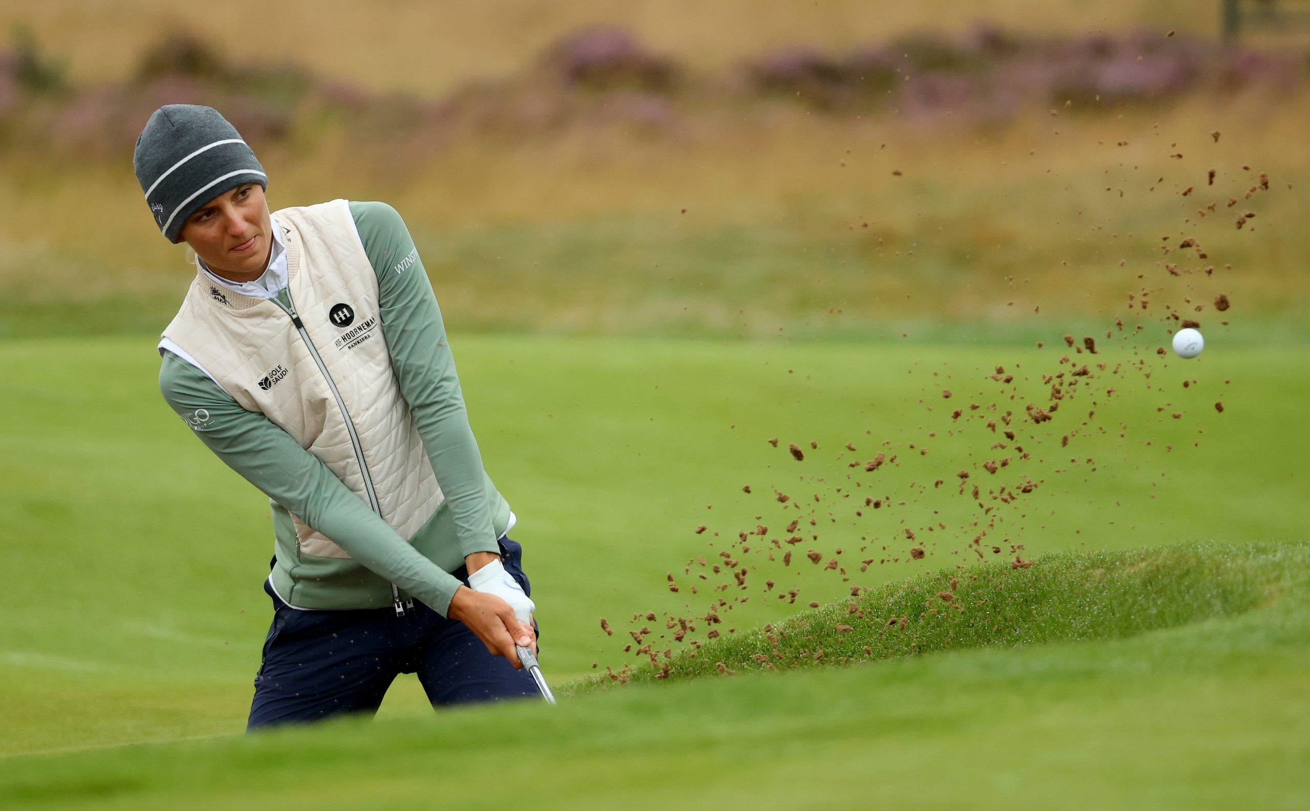 Anne Van Dam to fight for cut in Women's Open, Czech midfielder Joost Lloyd •Golf.nl