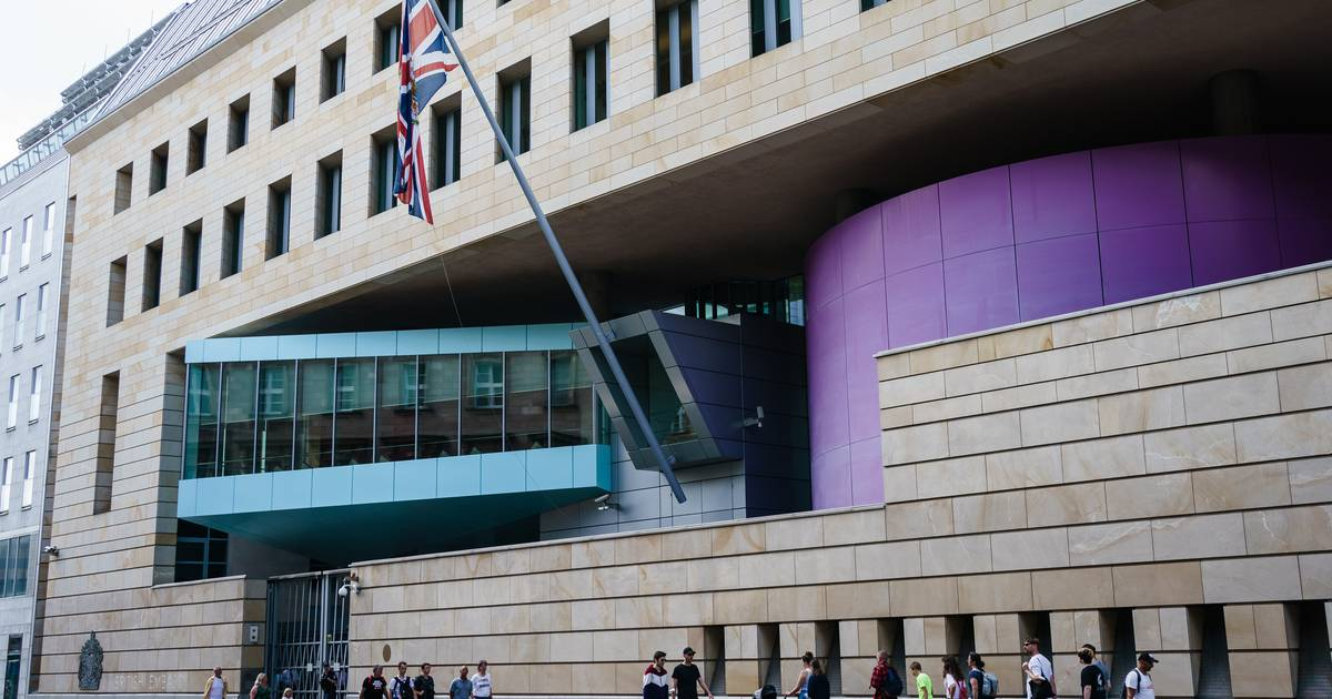 British embassy employee arrested in Berlin on charges of spying on Russia |  abroad