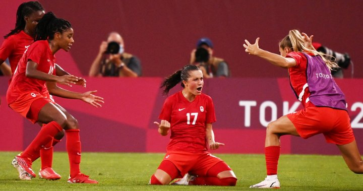 Canada defeated the United States 1-0 in Women's Olympic Football