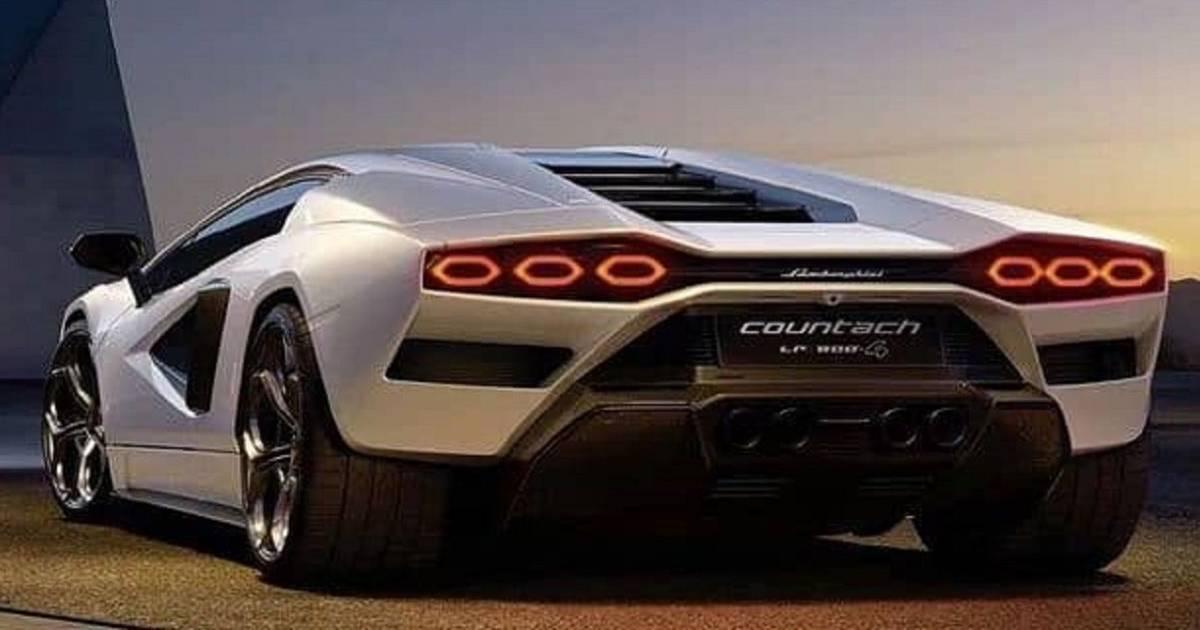 Countach: The return of the ultimate Lamborghini car sticker |  the cars