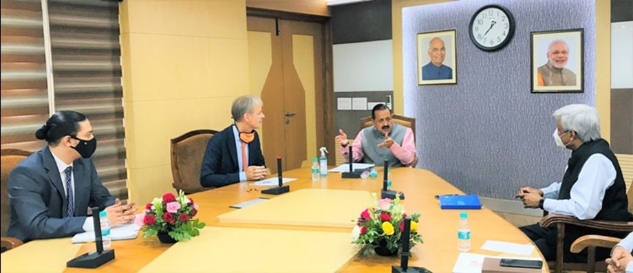 Doctor.  Jitendra Singh emphasizes Indo-Dutch cooperation in health and agriculture