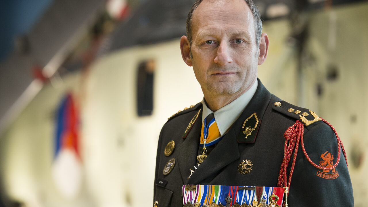Former NATO commander Mart de Groof seeks to rescue expelled from Kabul