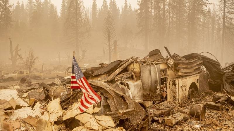 Historic wildfire destroyed more than 400 California homes and businesses