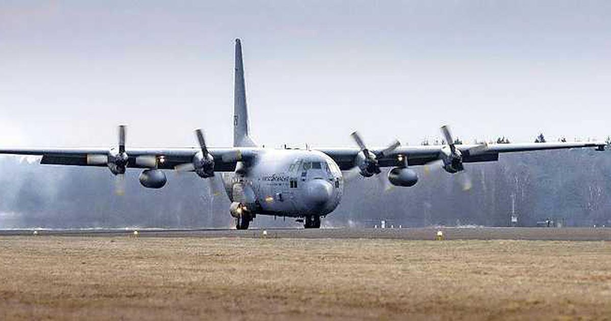 One of two Dutch evacuation planes crashes in the area around Afghanistan |  interior