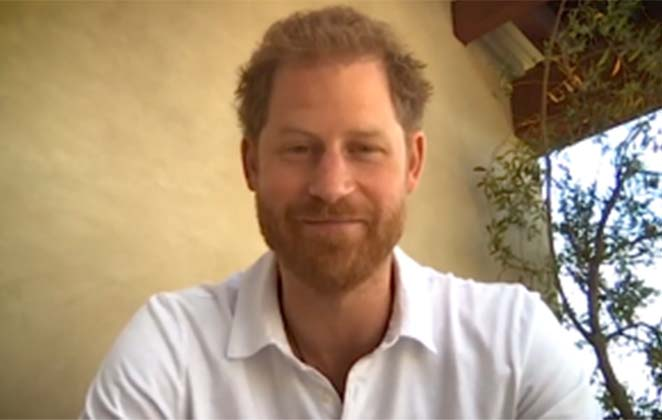 Prince Harry returns to the UK to record Netflix