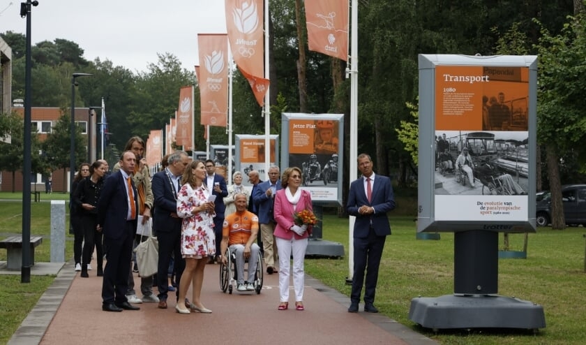 Princess inaugurates exhibition on Paralympic sports