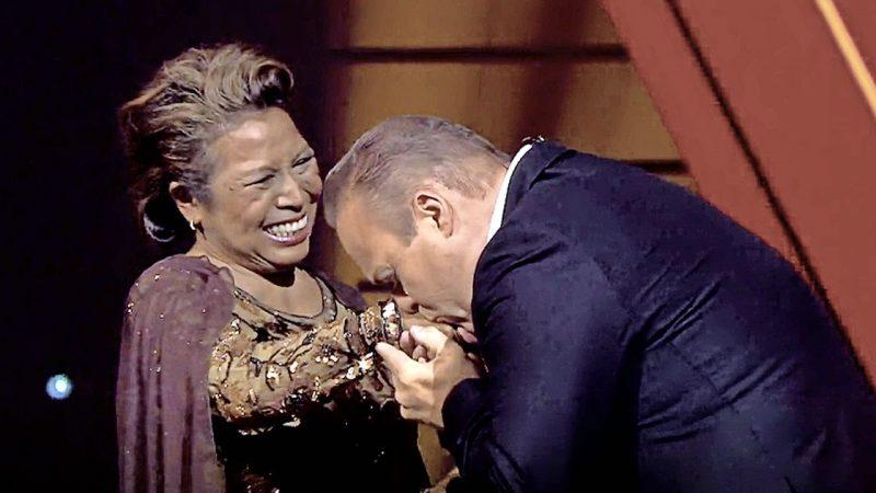 Senior Voice: Justin Belmelay picks emotional France Bauer    TV