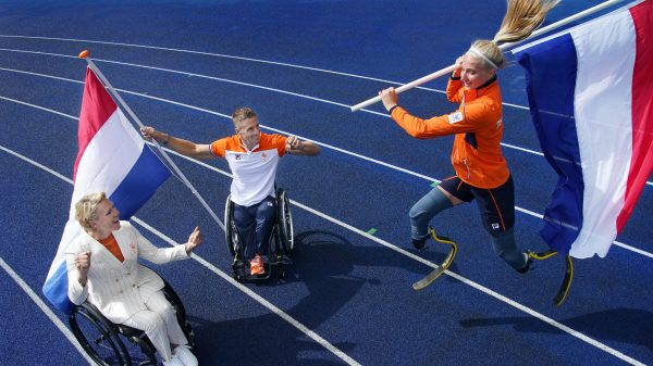 This is the Paralympics and these athletes have a chance to win a gold medal