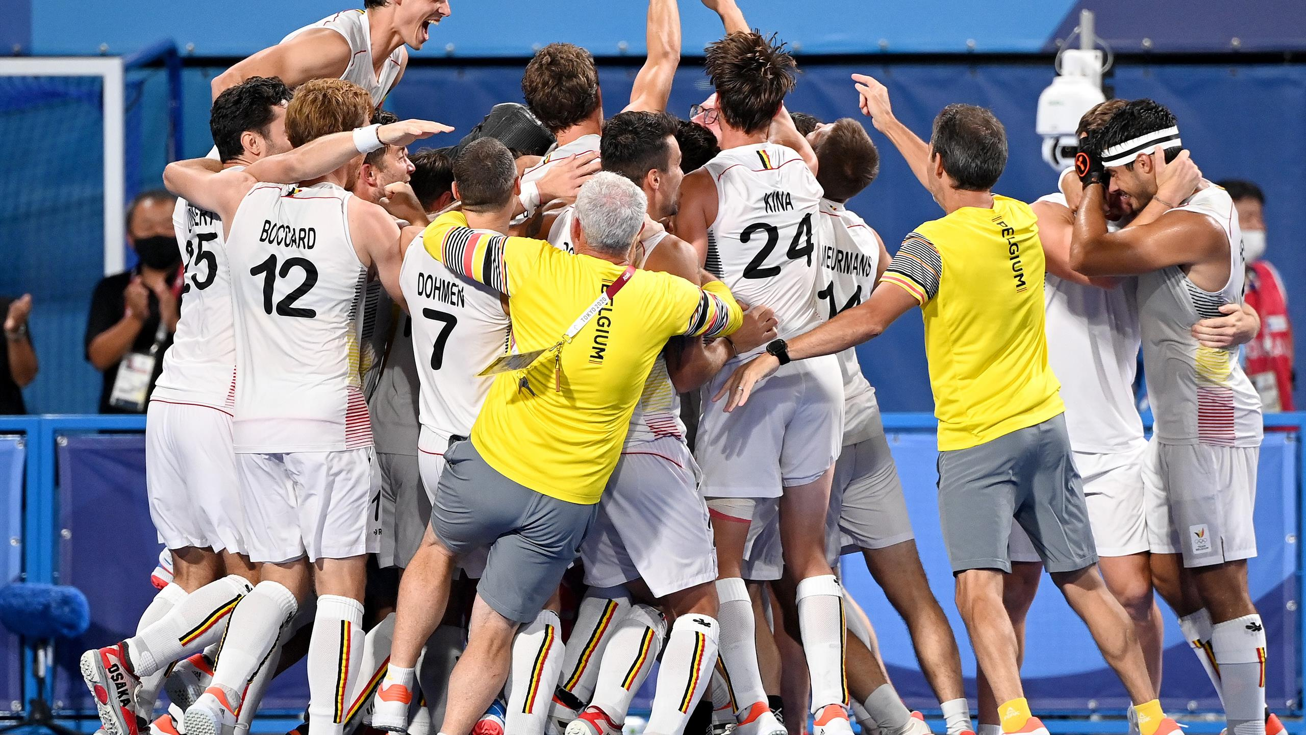 Tokyo 2020    Belgium beat Australia by shoot-out to win first hockey gold
